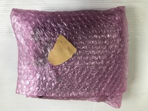 ツァイス(ZEISS)製双眼鏡の梱包 エアパッキン包む